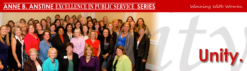 Anne Anstine Excellence in Public Service Series